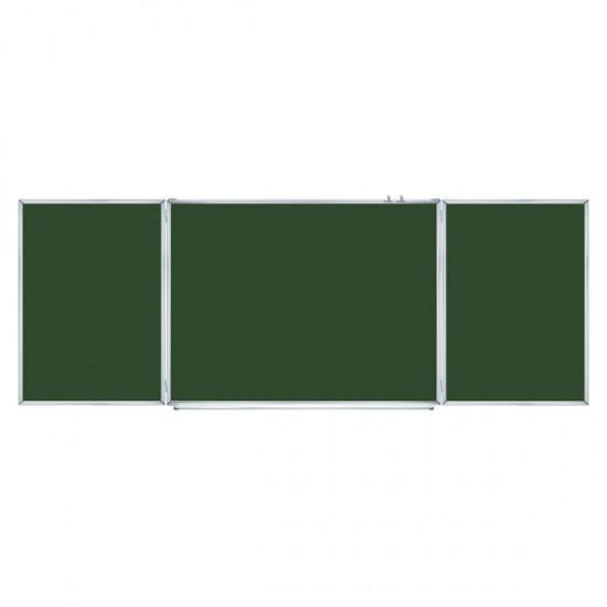 Magnetic Cermet Chalk Classroom Board 4х1m