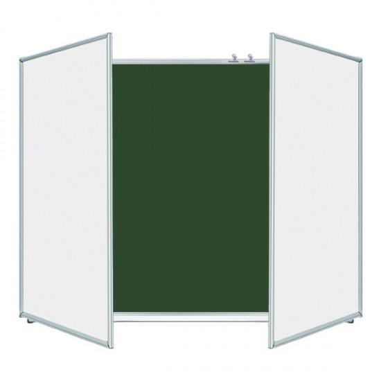 Magnetic Chalk/Marker/Combined Classroom Board ERUDITE 400х100 cm