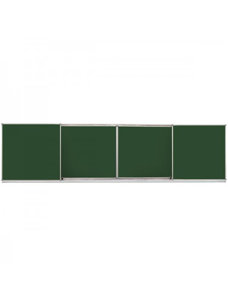 Magnetic Sliding Chalk Combined Board 400х100 сm