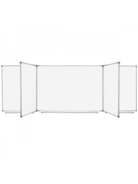 Magnetic Classroom WhiteBoard with 7 surfaces, 300x100 cm