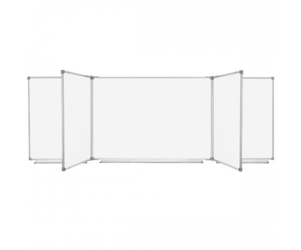 Magnetic Combined Classroom WhiteBoard, 7 surfaces, 400x100 cm