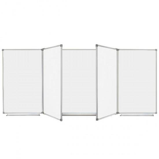 Magnetic Classroom WhiteBoard 400х120 cm, 7 surfaces