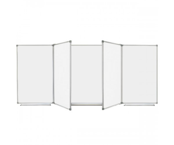Magnetic Classroom WhiteBoard 300х120 cm, 7 surfaces