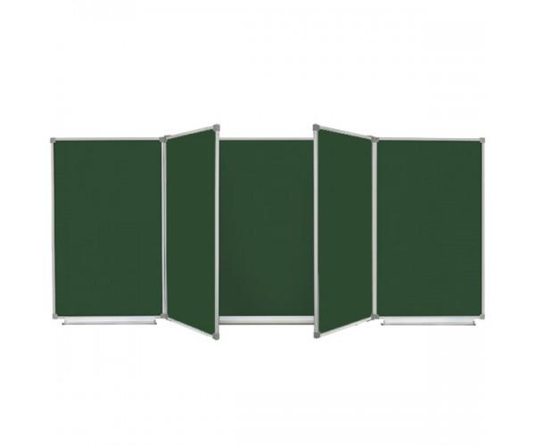 Magnetic Chalk Classroom Board 400х120 cm, 7 surfaces