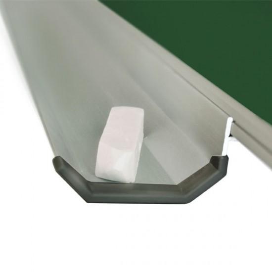 Magnetic Chalk Classroom Board 300х120 cm, 7 surfaces