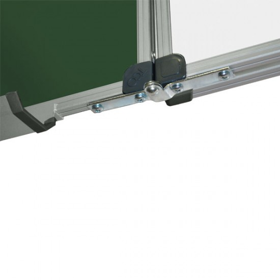 Magnetic Combined Classroom Board, 7 surfaces, 300x100 cm