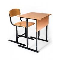 "School desk with chair student's single ""Garant"""