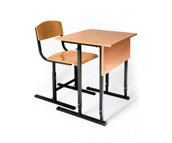 "School desk with chair student's single ""Garant"""