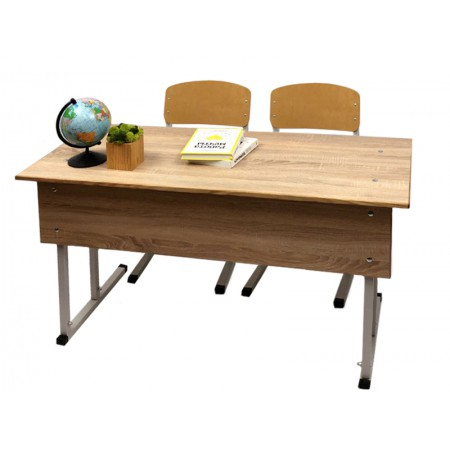 School desks and chairs