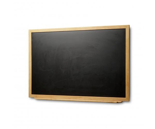 Wood-Mounted Blackboard