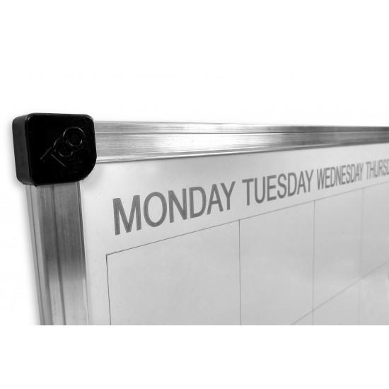 Magnetic marker board schedule, 60х40 cm