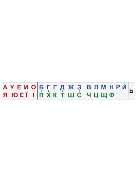 Line of letters 150х20 сm