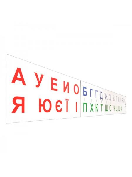 Line of letters 200х20 см