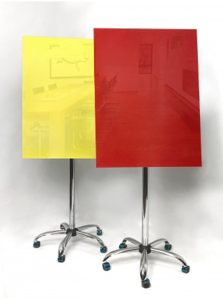 Flipchart GLASS mobile