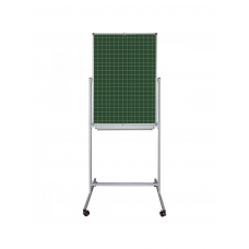 Flipchart mobile rotary combined, 70x100 cm with lining in a cage