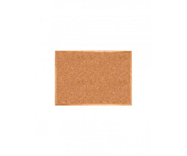 Cork Board 120х90 сm in wooden profile