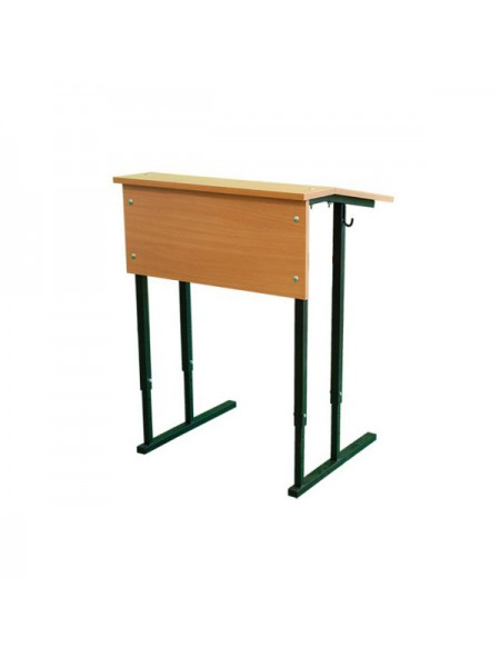Convertible Single-Seater Desk with Inclined Table Top (STANDART)