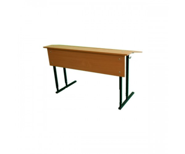 Convertible Double-Seater Desk with Inclined Table Top (STANDART)