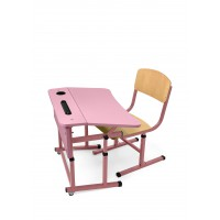Student single set for NUSH (pink)