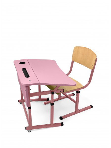 Student single set for NUSH (pink)
