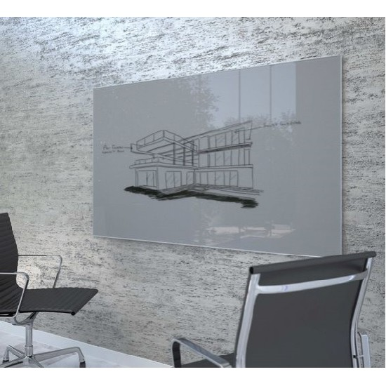 Glass board for office
