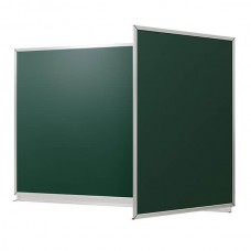 "Chalk magnetic board in aluminum profile ""New standart"", 3000*1200 mm, 3-pov"