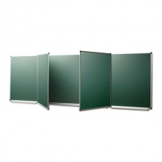 "Chalk magnetic board in the ""New standart"" aluminum profile, 4000*1200mm, 7-surface"
