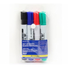 Set Buromax markers for dry-boards 4 pieces of 2-4 mm