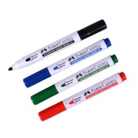 Faber-Castell markers for marker boards, 4 pcs. 2.2 mm