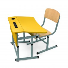 Kit + desk chair for single NSE (yellow)
