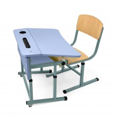 Kit + desk chair single with a shelf for NSE (Lavender)
