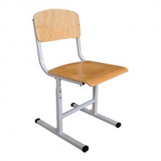 School chair adjustment (collapsible)