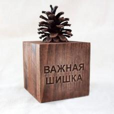 """Декор настольный """"Важная шишка"""", 100х100х100 mm"""