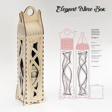 Gift box for bottles, 430x104x85 mm
