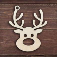 """Souvenir New Year """"Deer"""", 100x100 mm"""