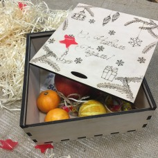 Christmas box, 200h200h100 mm