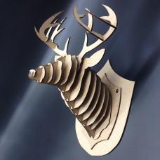 Deer wall trophy 400h300 mm